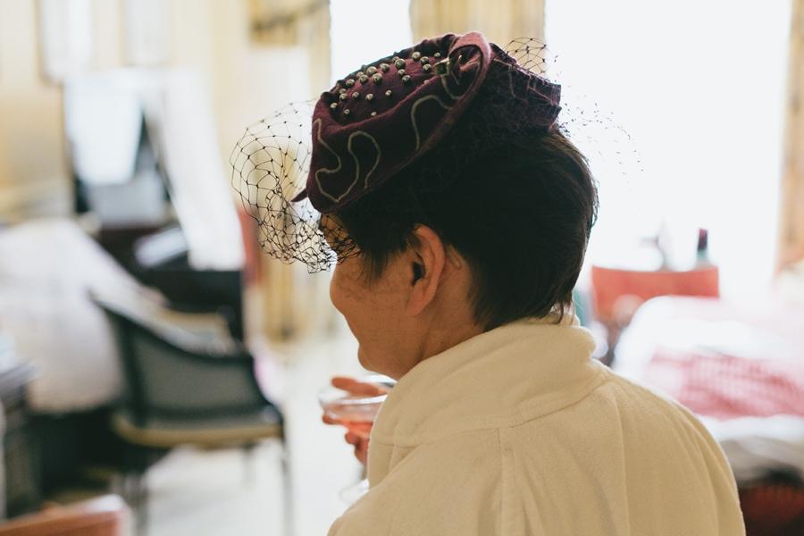 vintage style fascinator hat