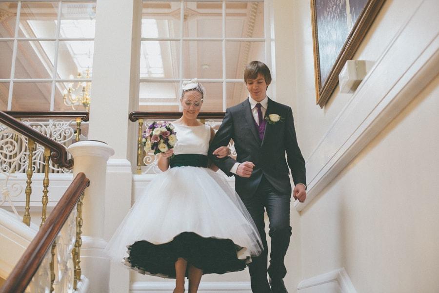 Bride at down hall, hertfordshire