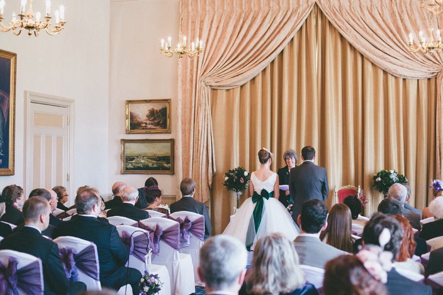 Down hall wedding, hatfield heath
