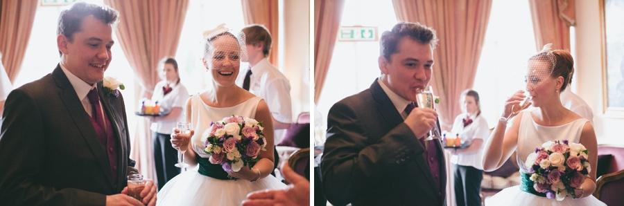 Katie & Gareth happy