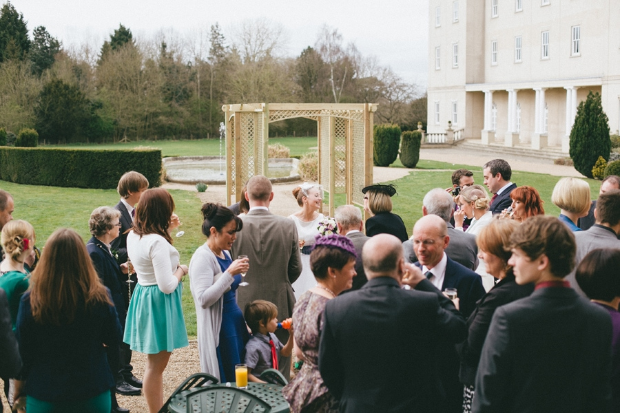 Now married at down hall, hertfordshire