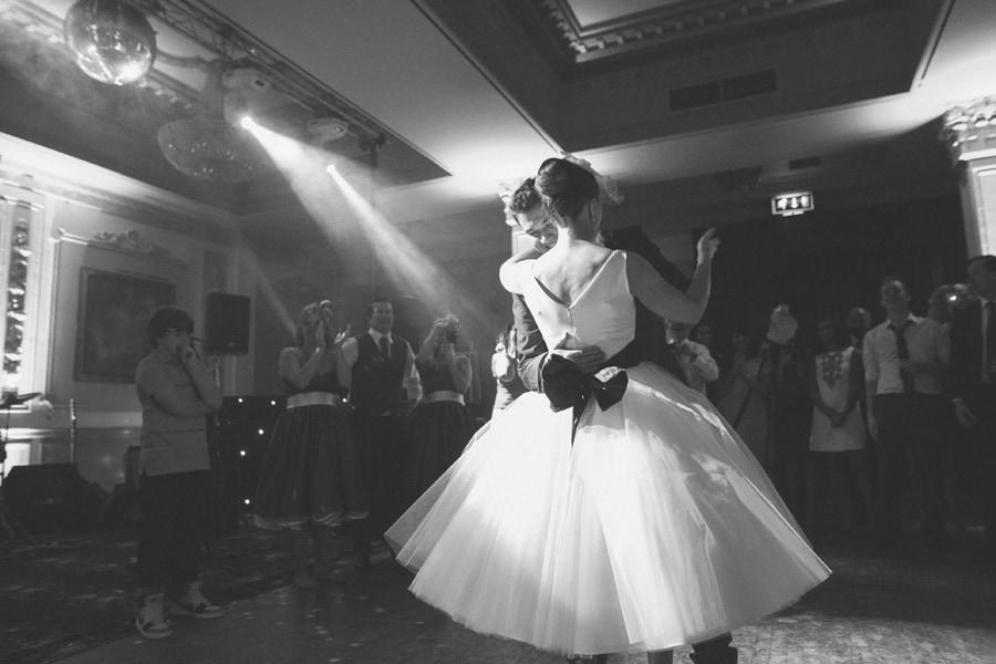 A wonderful first dance