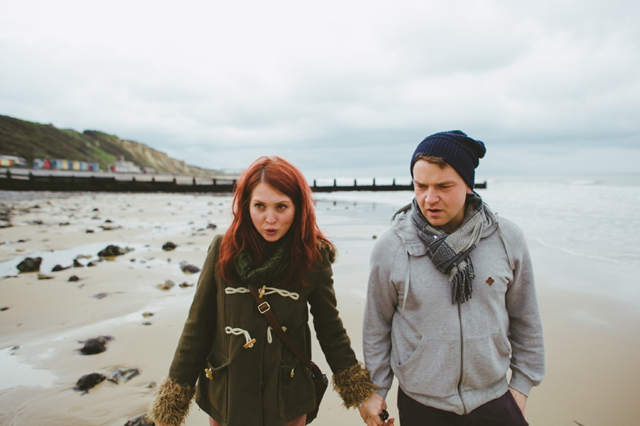 Jenny and Phil in Norfolk