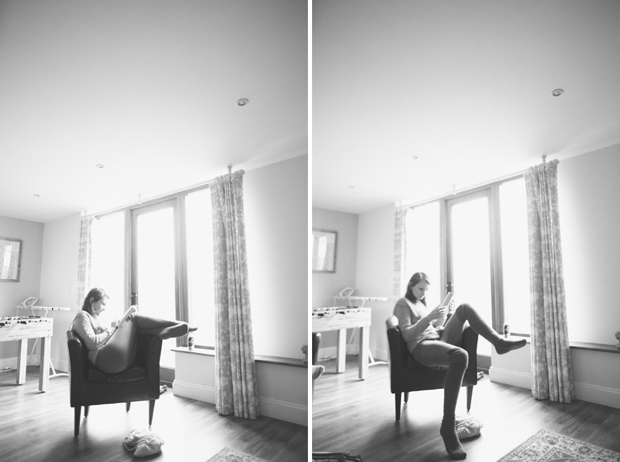 anastasia reading a book