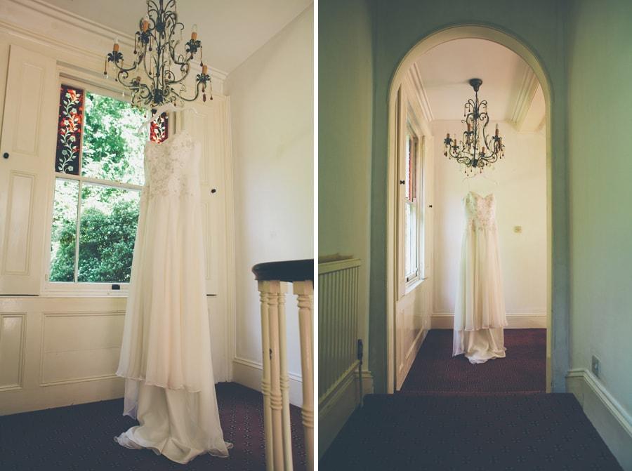 Wedding dress photo for Jackies Hertfordshire Wedding