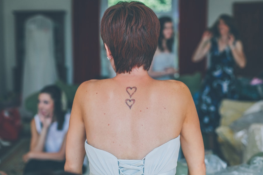 Love heart tattoos