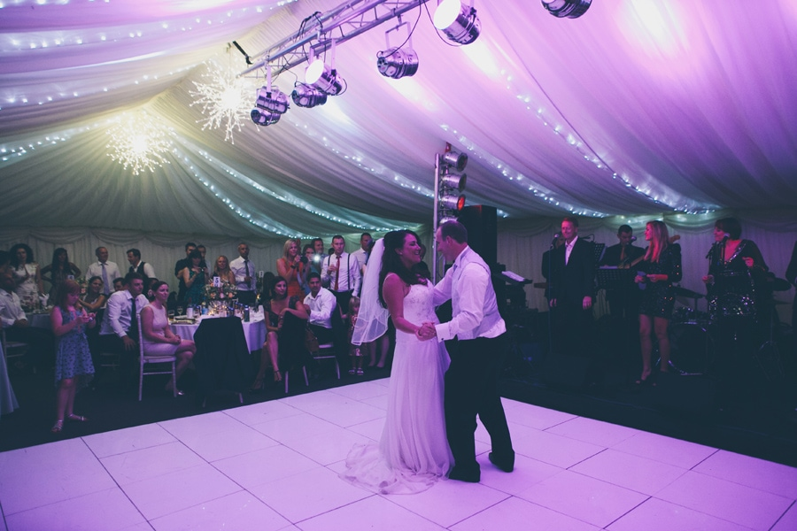first dance for the hertfordshire couple