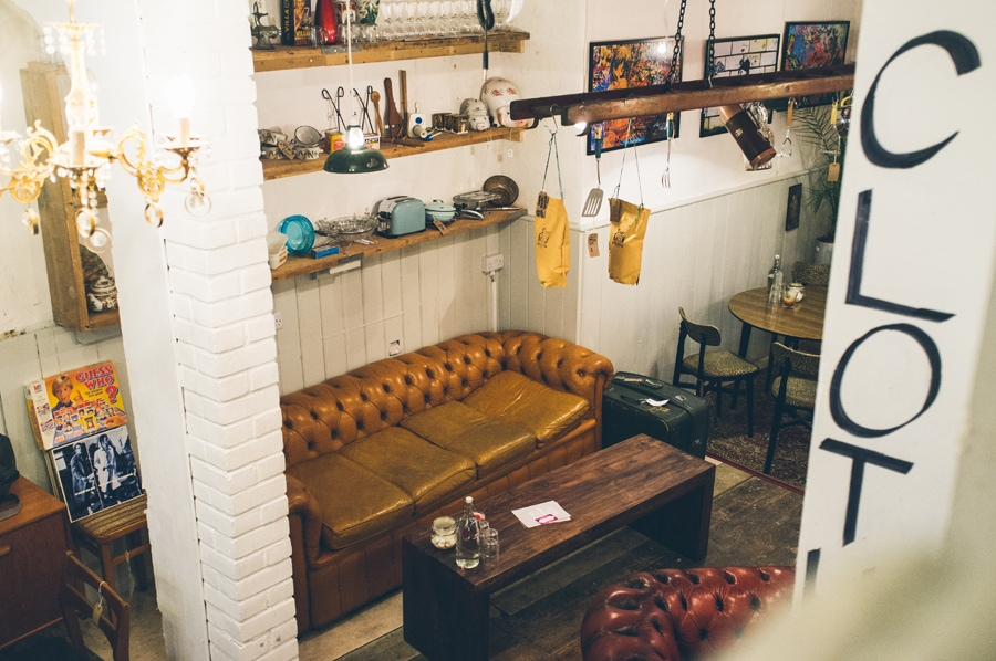 places to sit in Dog and Whistle Emporium