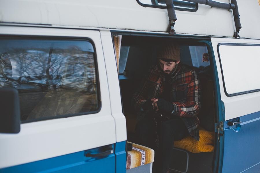 craig in his vw bus