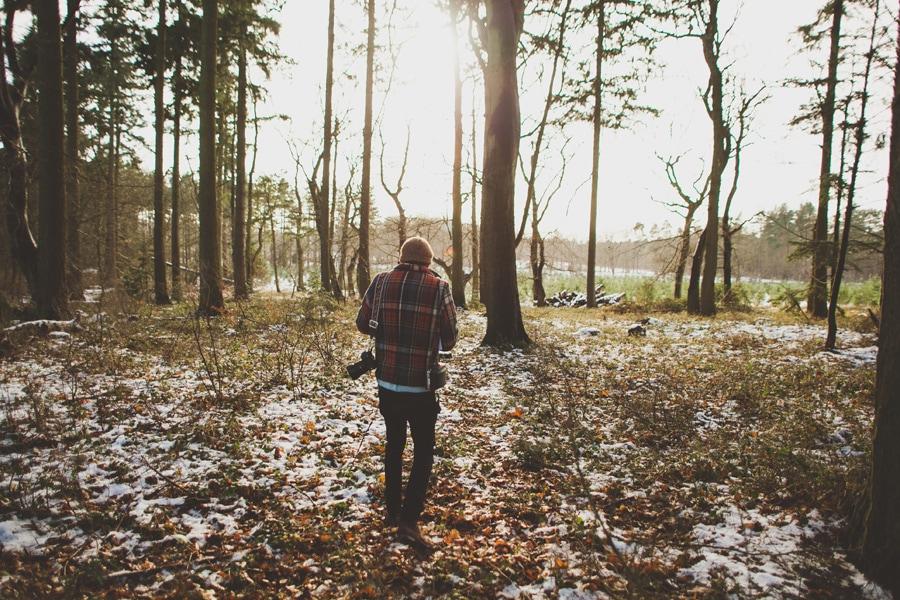 craig in thetford forest