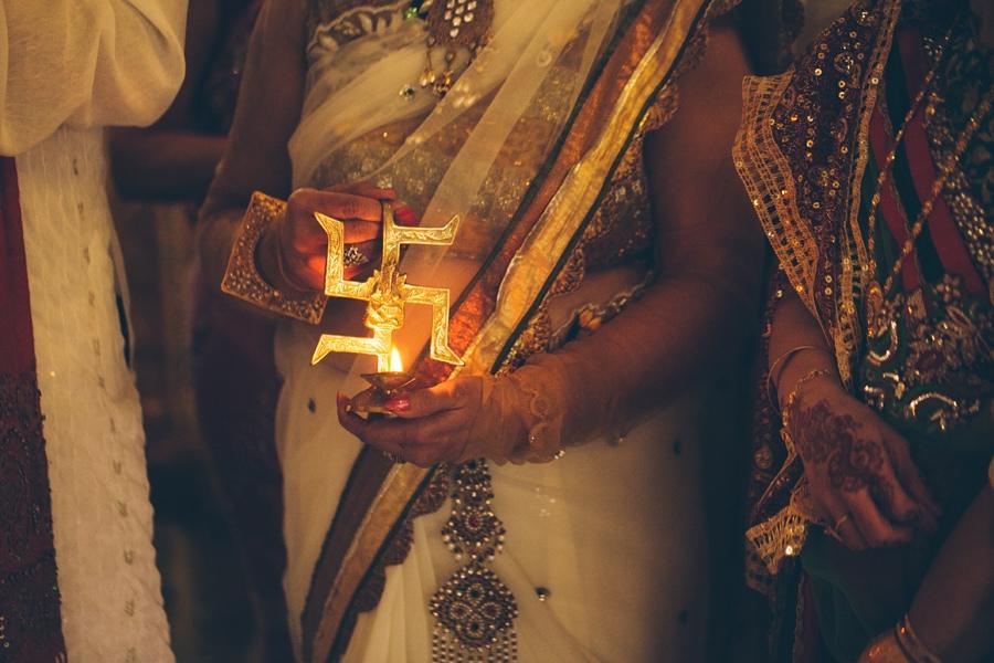 asian wedding candle