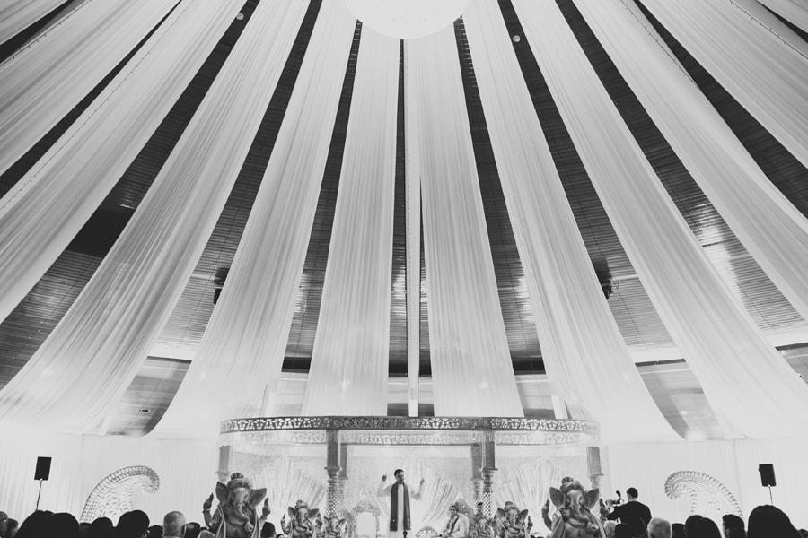 asian wedding at Copthorne Hotel