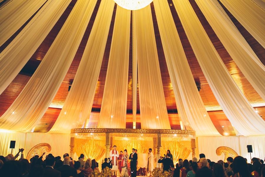 Kavita and Rimal beautiful wedding at Copthorne Hotel