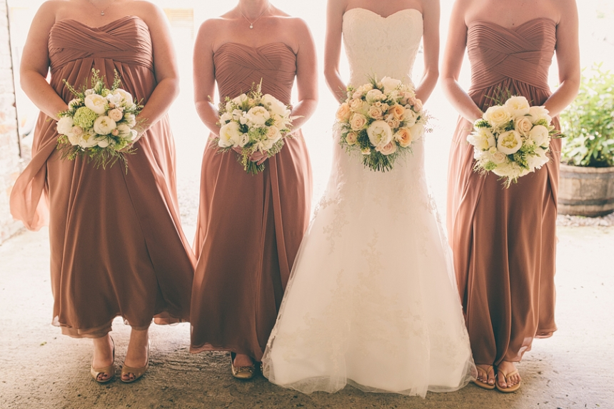 bridesmaids at bellinter house alternative wedding