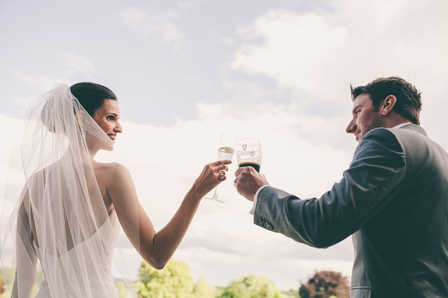 cheers to being married