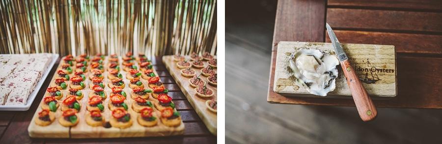 amazing wedding food