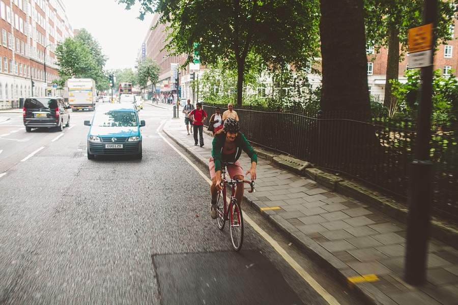 guy on his bike in lindon