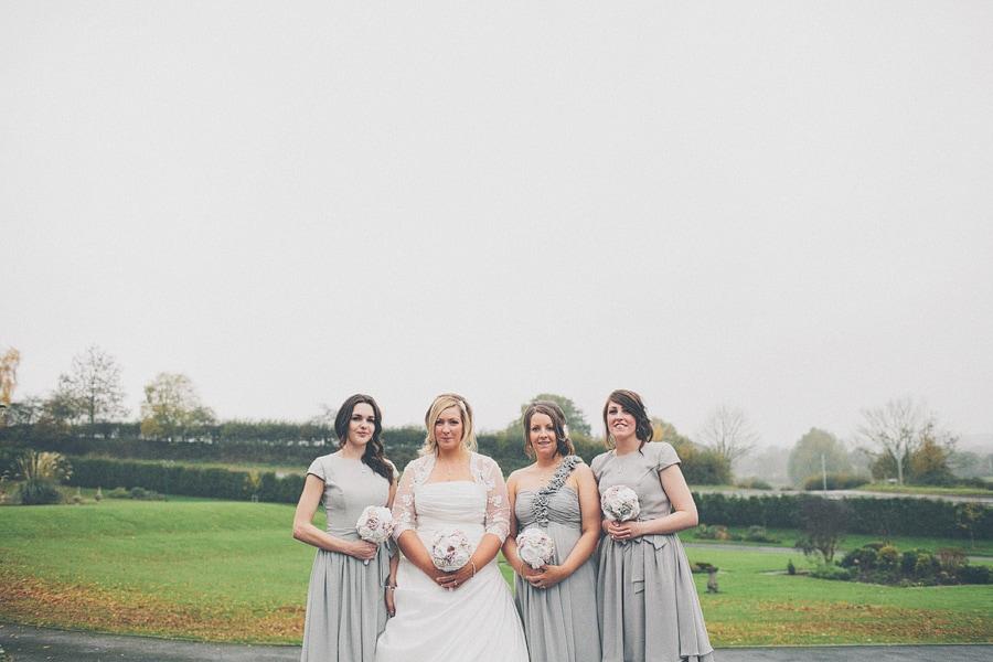 girls group wedding shot