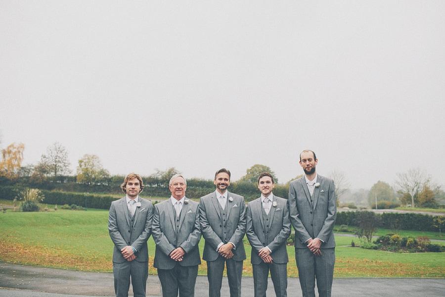 guys group wedding shot