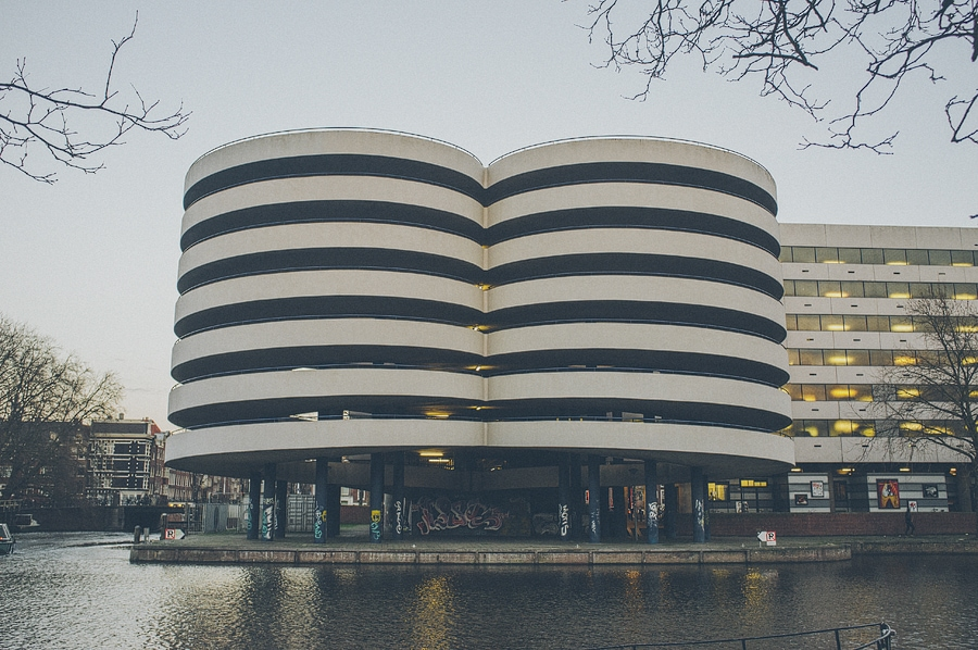 cool looking building in amsterdam