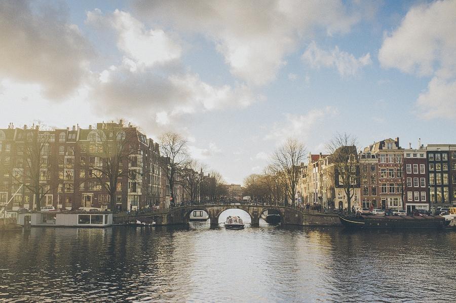 amsterdam canal photo