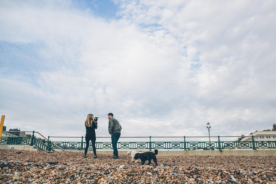 brighton engagement session