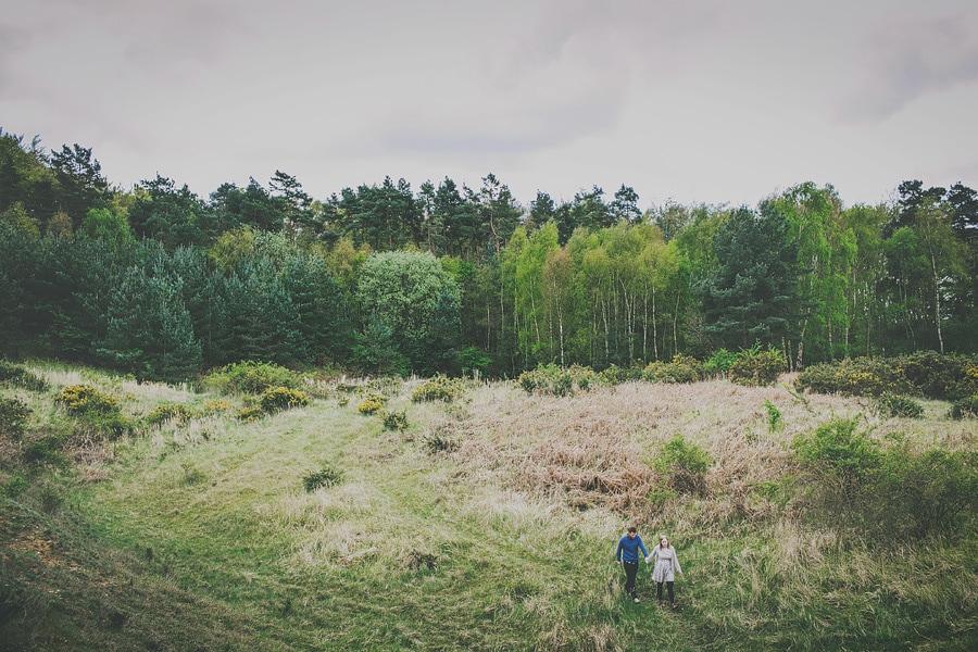 pre wedding shoot in thetford forest