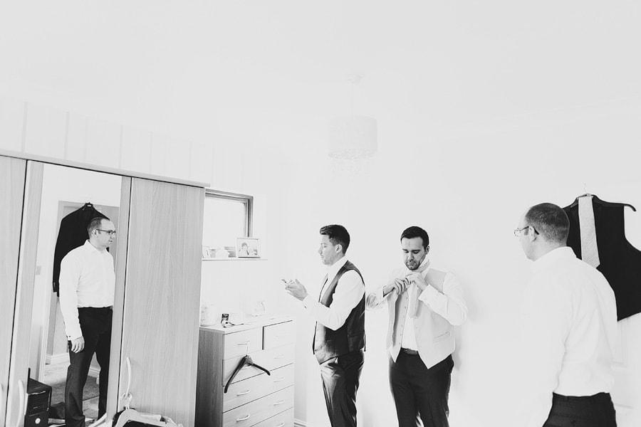 matt getting ready shots for his wedding