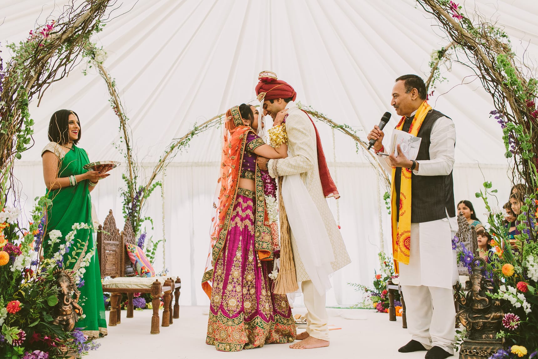 hindu wedding at micklefield hall