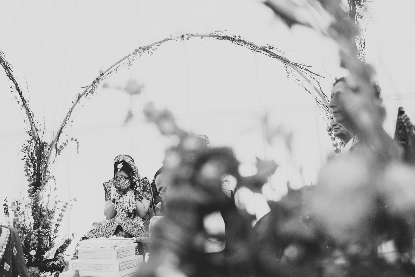 hindu wedding at micklefield hall hertfordshire