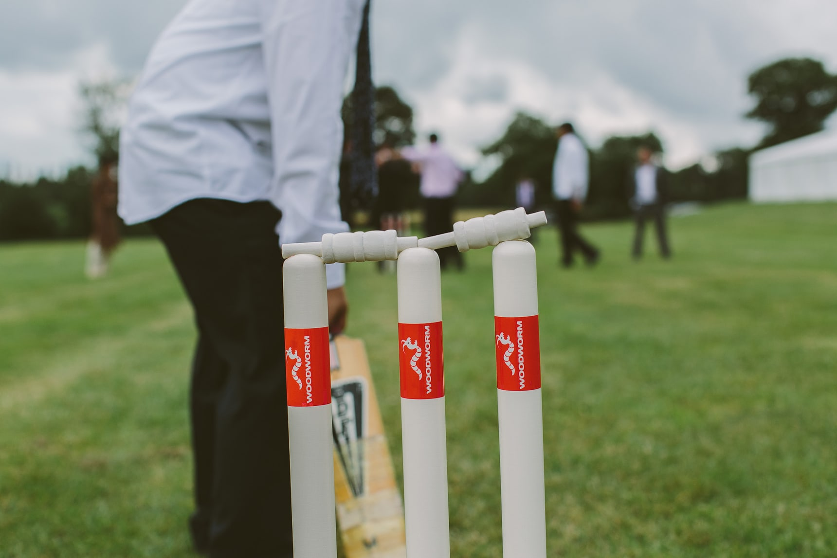 game of cricket at hindu wedding