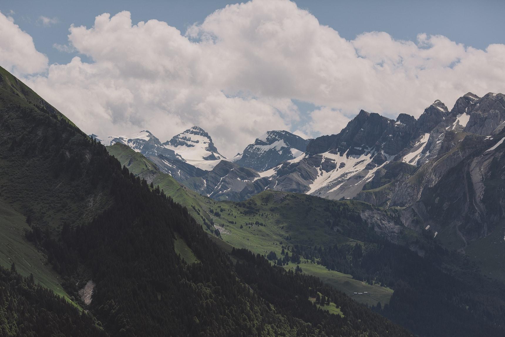 french alps mountain wedding