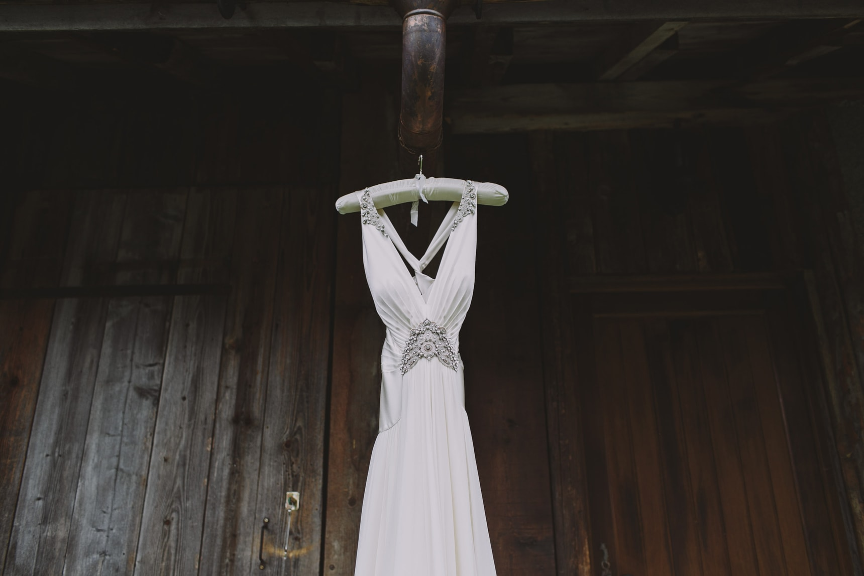 french alps wedding details