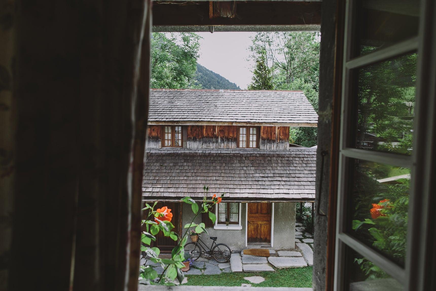 morzine wedding farm house