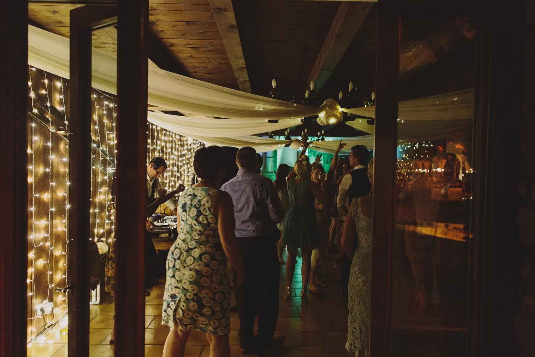 morzine destination wedding dancing