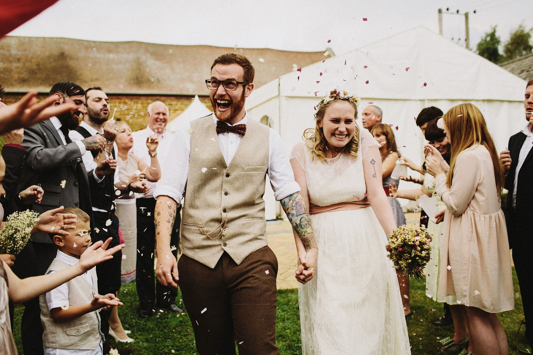 oxfordshire summer wedding