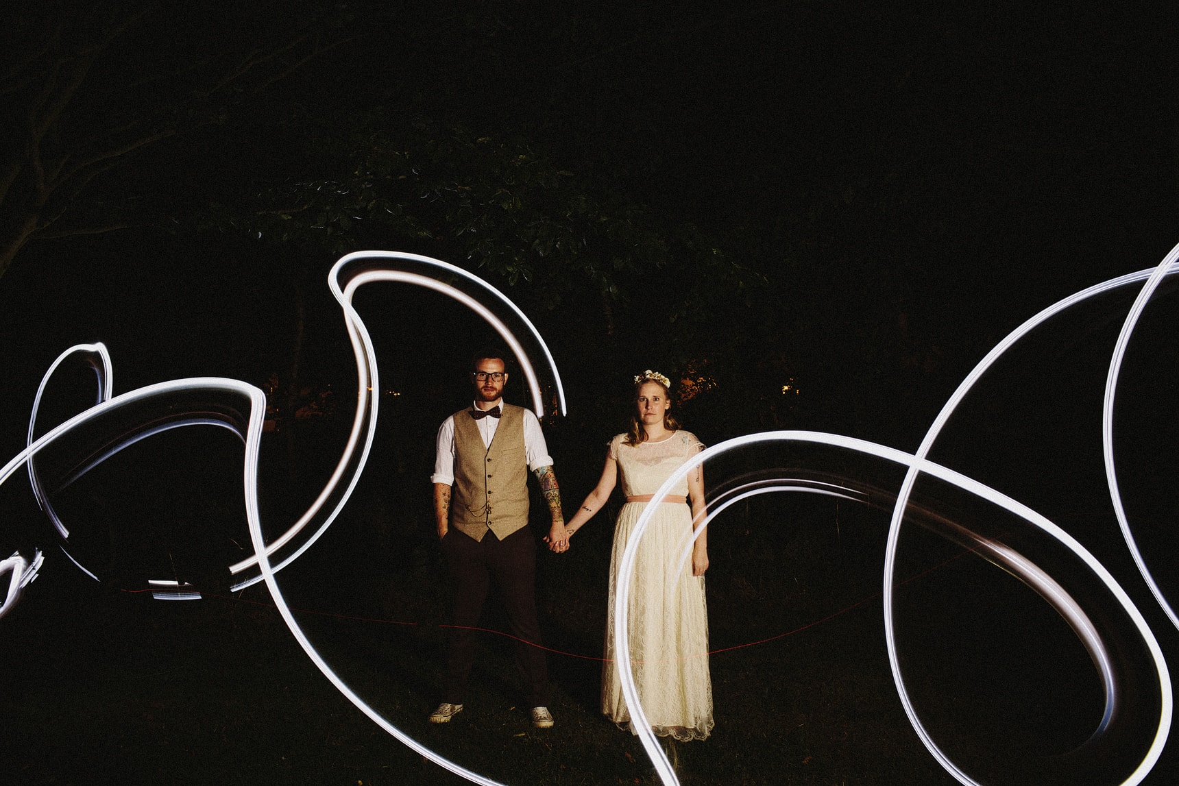 night wedding portrait1