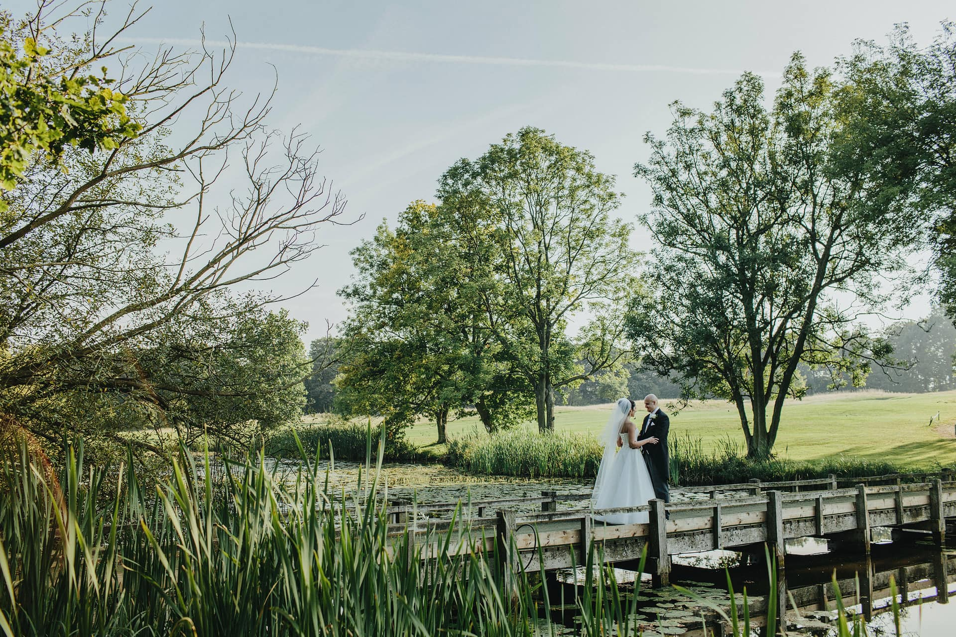 wedding photographer in the uk