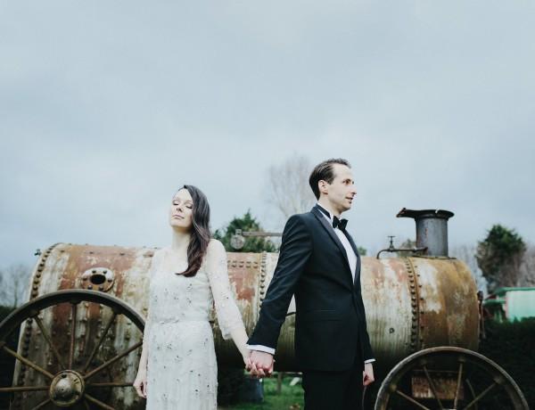 creative uk wedding portraits