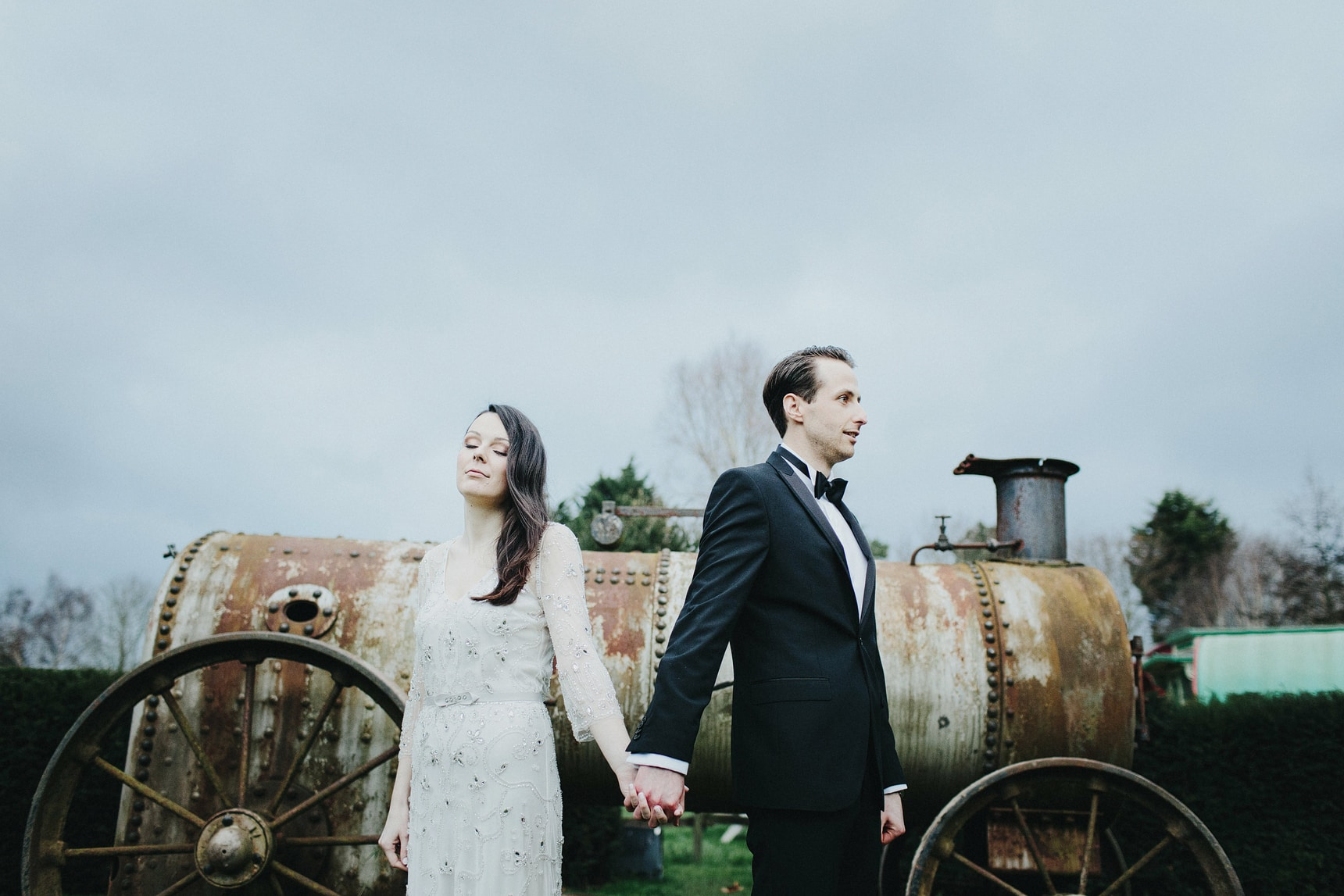creative uk wedding portraits