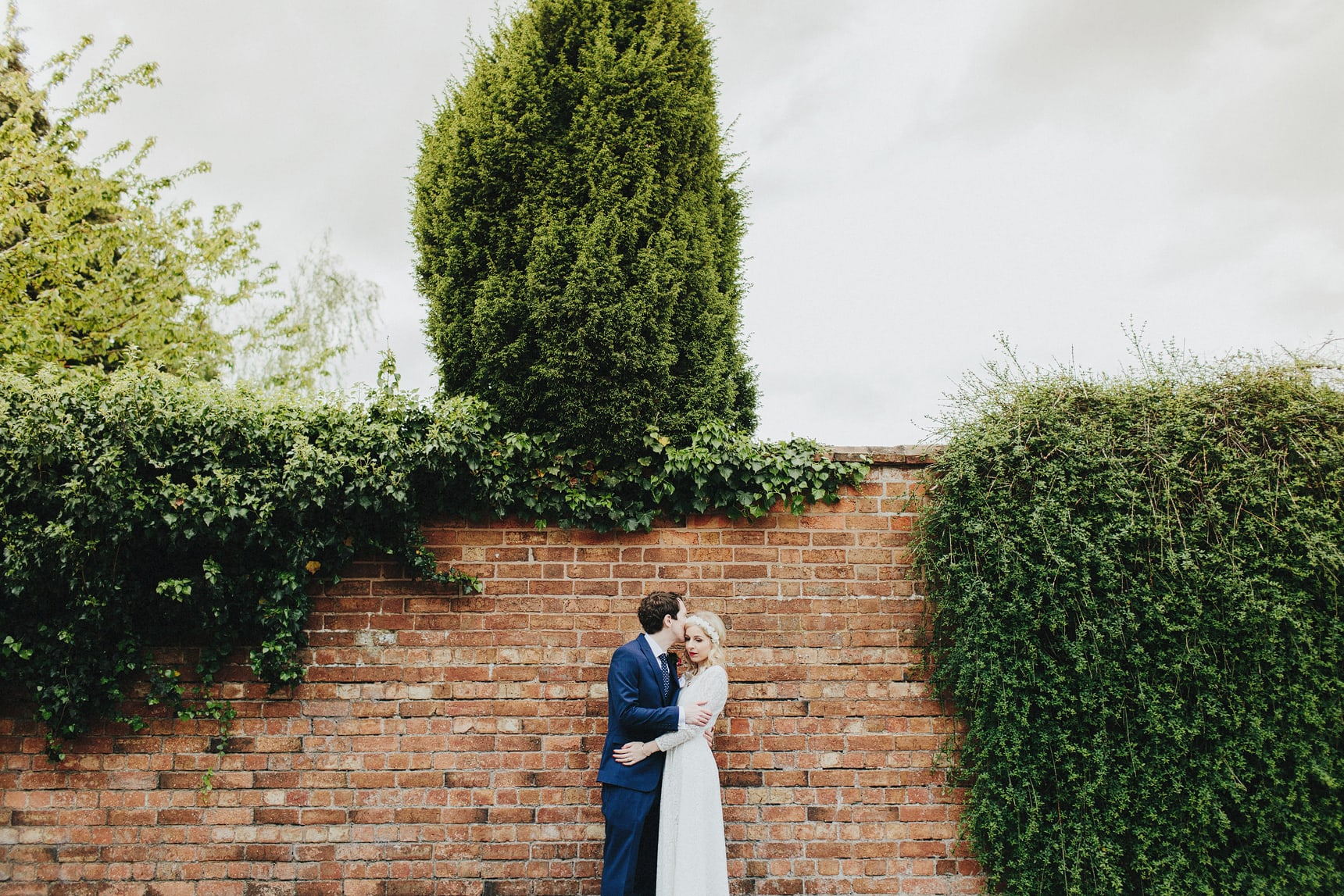 creative wedding portraits halls croft