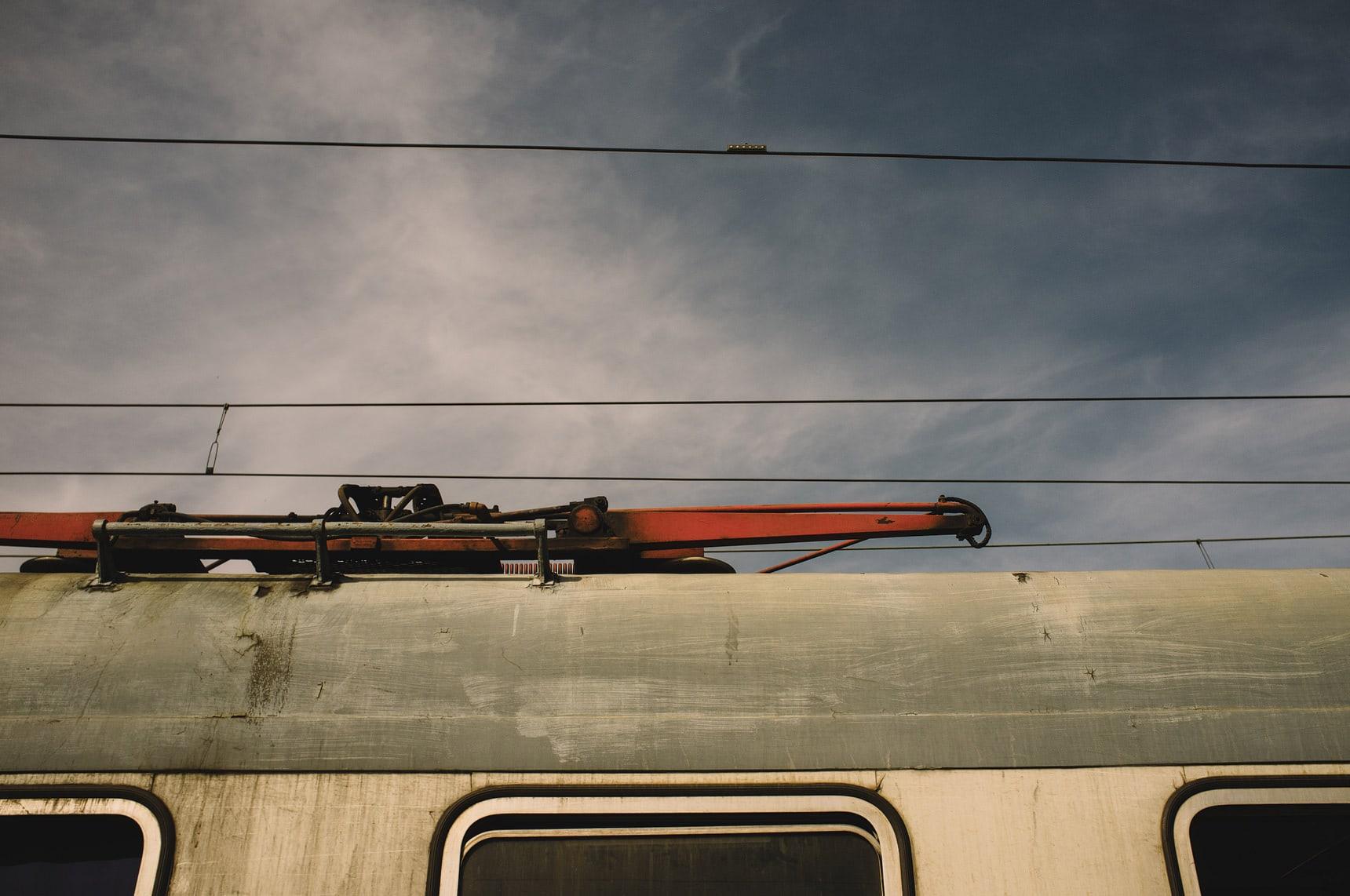 train journey in italy