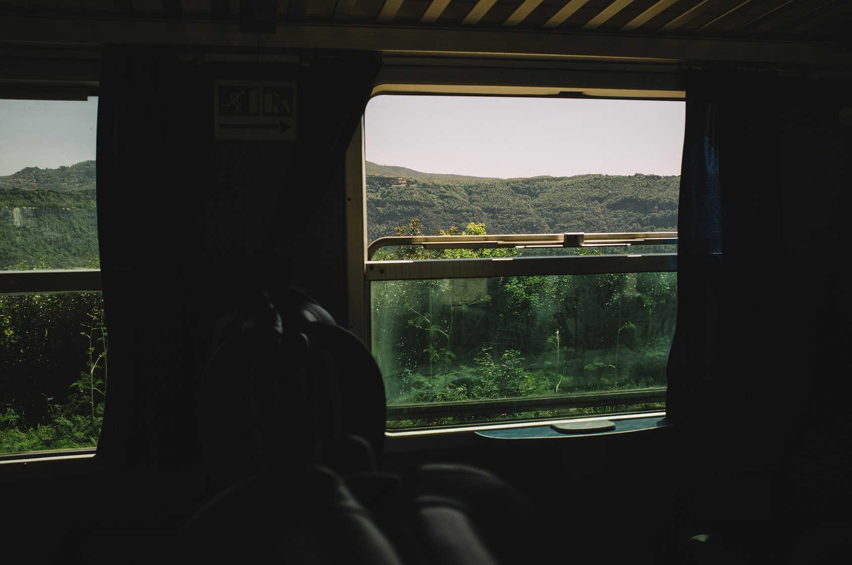train journey in italy