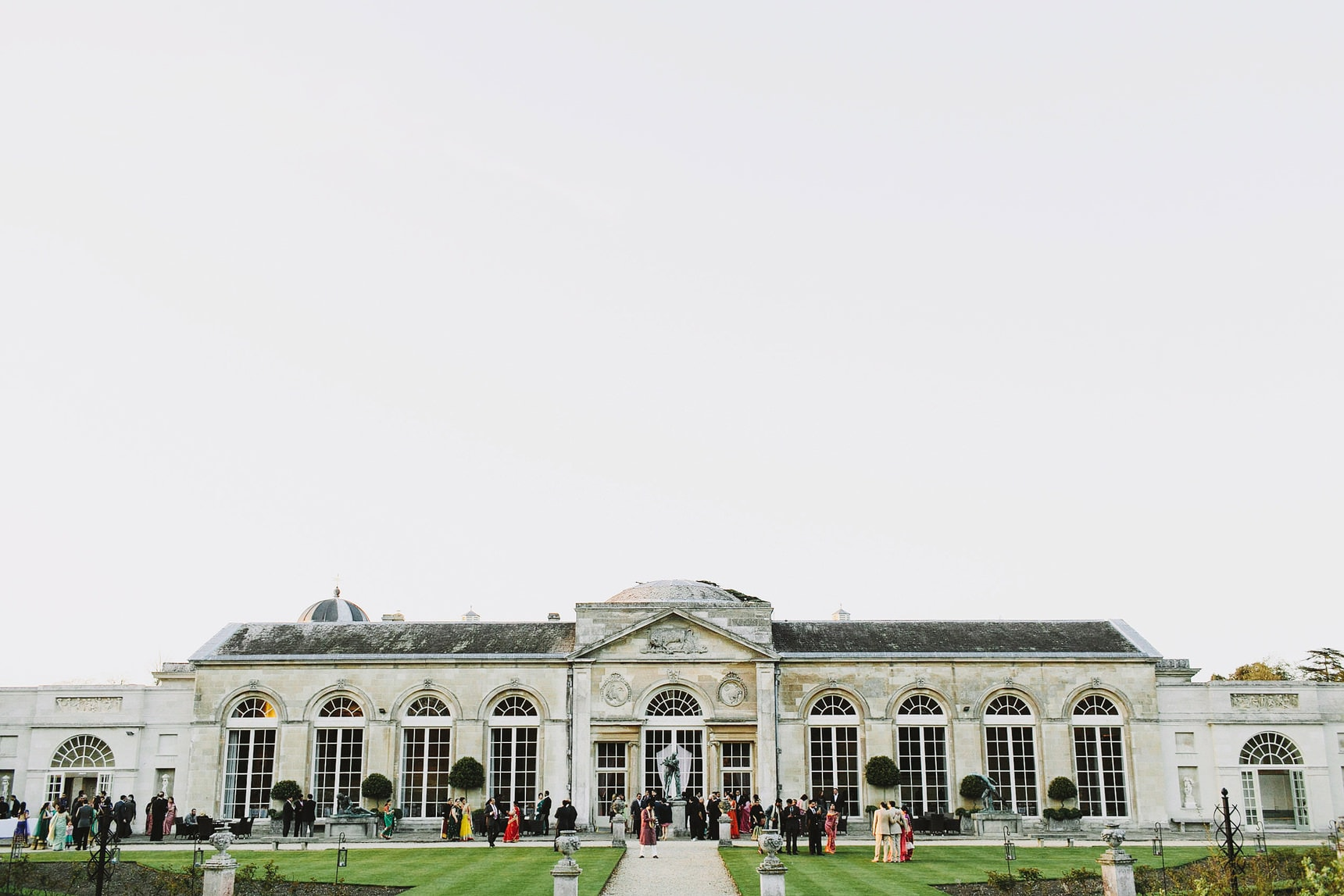 woburn abbey sculpture gallery wedding