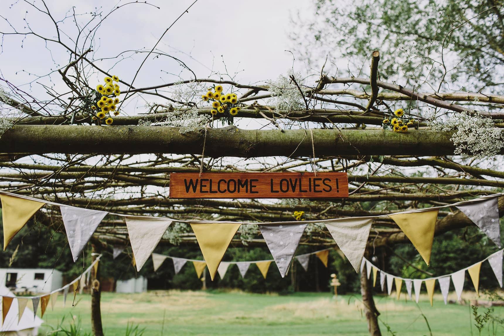alternative forest wedding