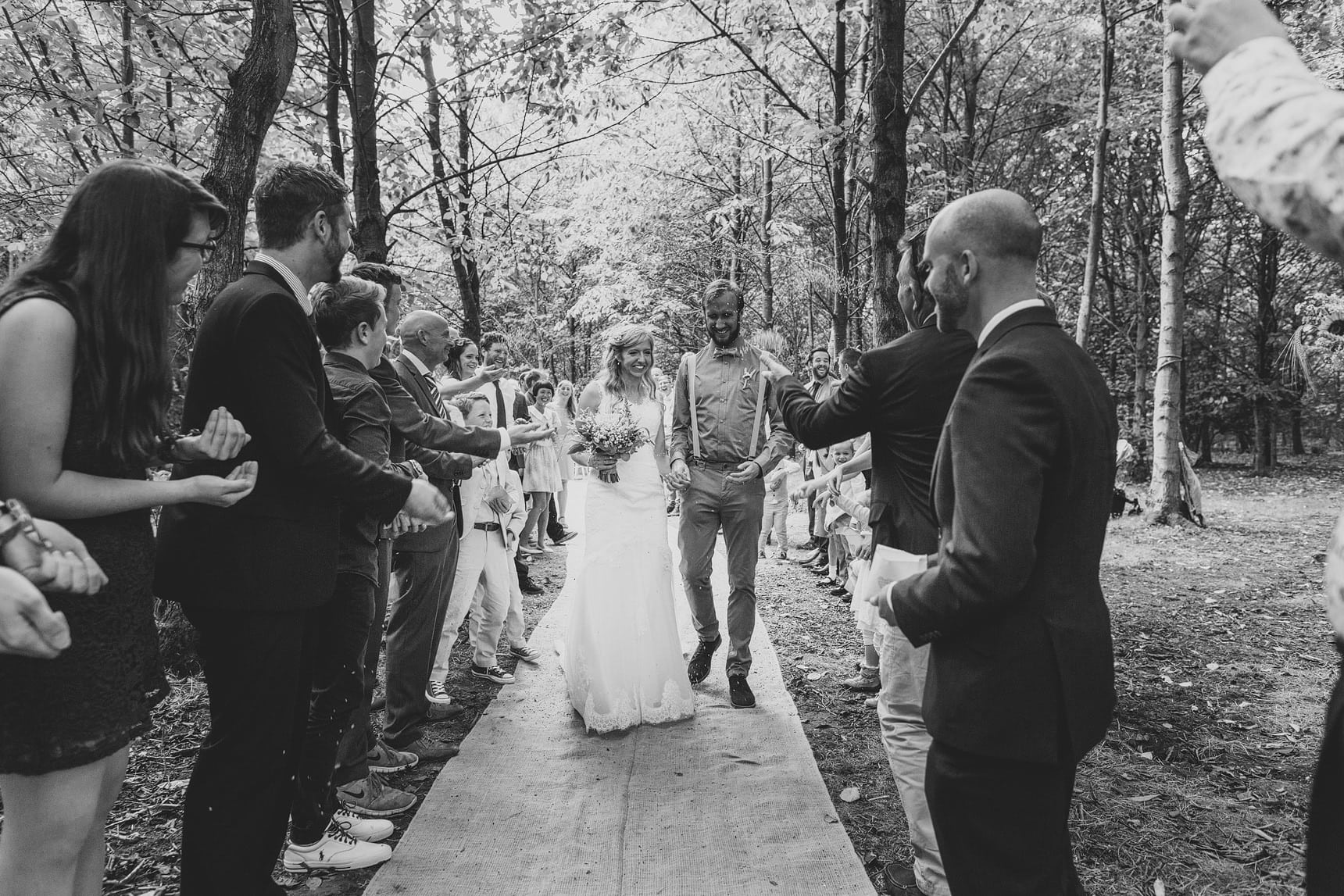 a wedding in the essex woods