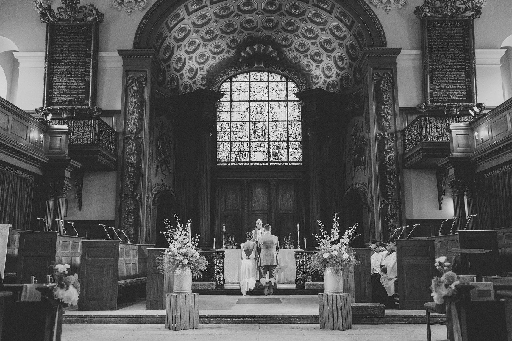 greenwich church wedding photography