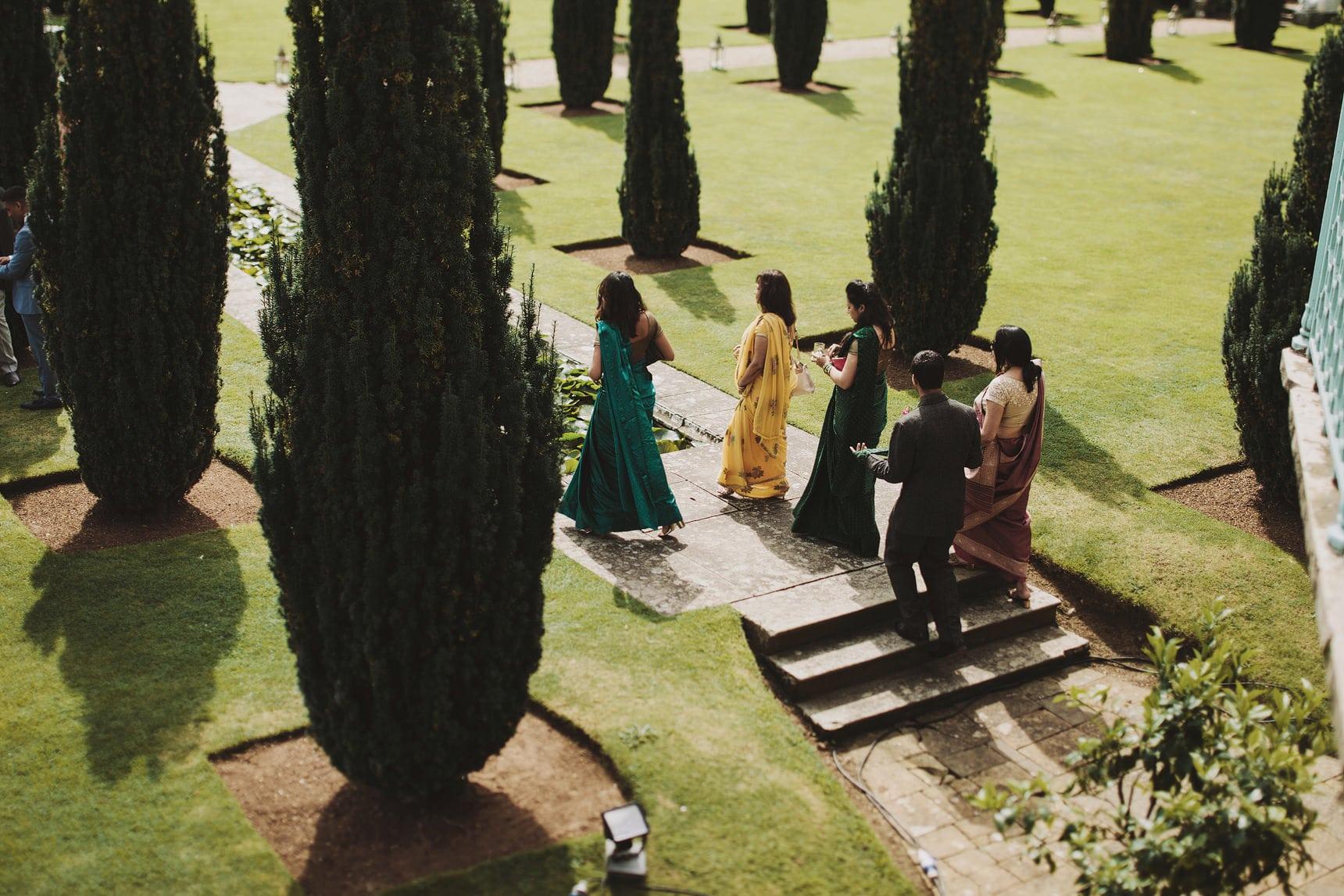 asian wedding sezincote house