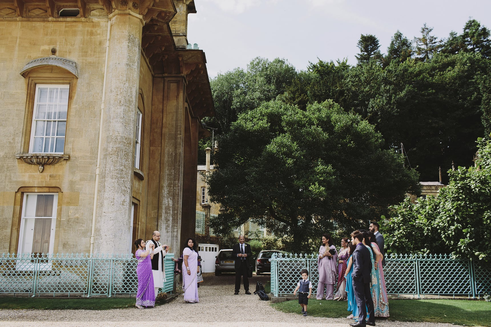 asian wedding sezincote house