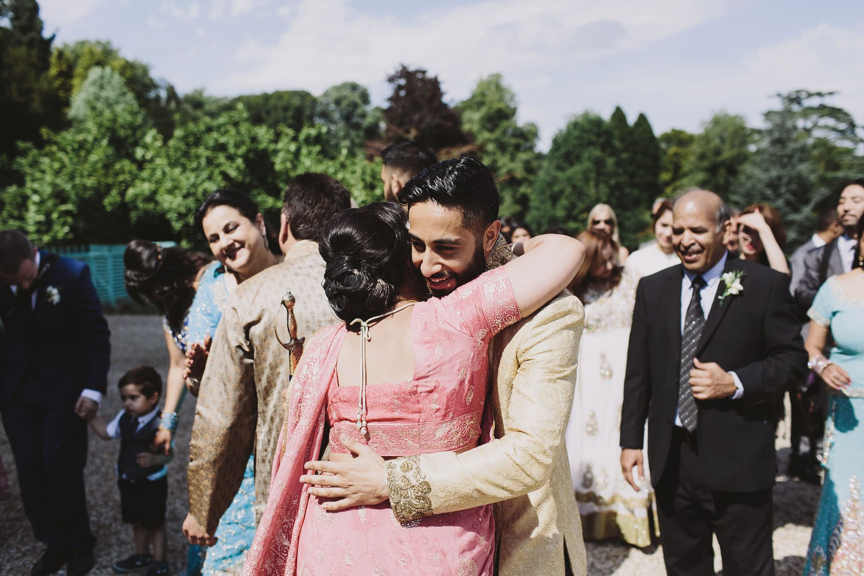 asian wedding photography sezincote estate